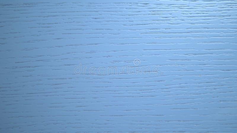 木蓝色纹理背景 有自然纹理的蓝色委员会时髦的设计的 木表面 库存照片