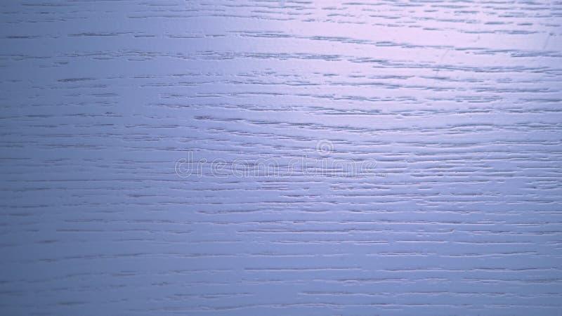 木蓝色纹理背景 有自然纹理的蓝色委员会时髦的设计的 木表面 免版税库存照片