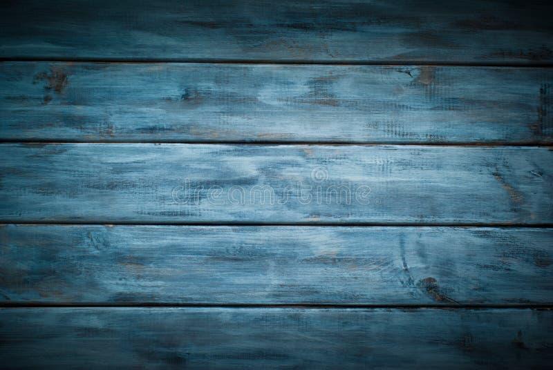 木蓝色背景 免版税库存图片