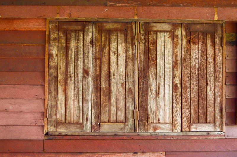 木视窗 免版税库存图片