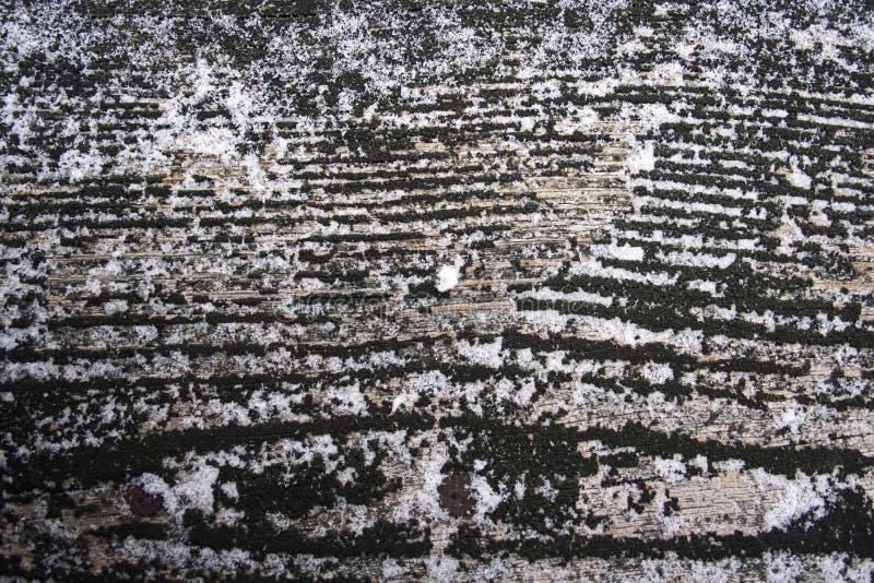木谷物纹理 库存图片