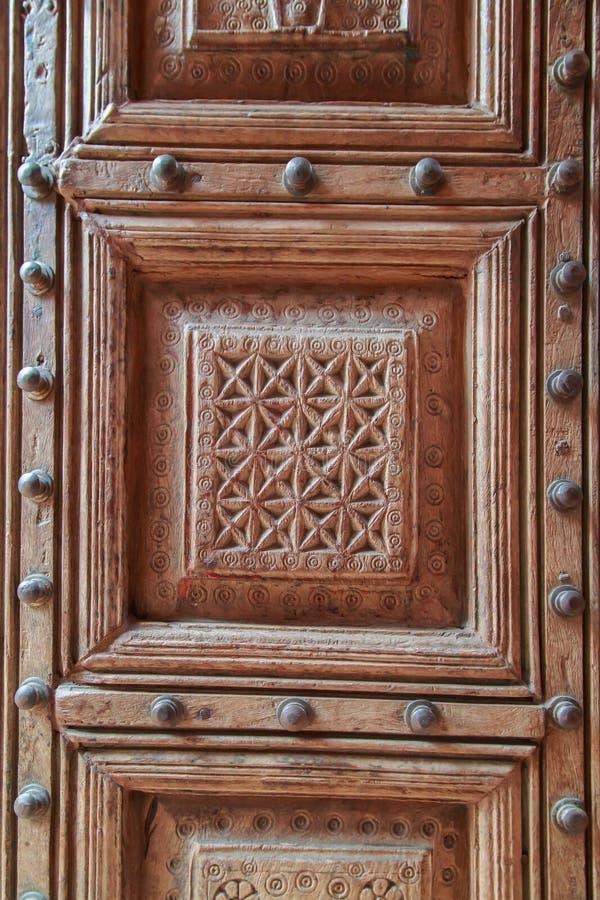 木雕刻 库存图片