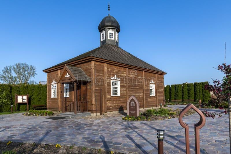 木鞑靼人的清真寺在Bohoniki,波兰 库存照片