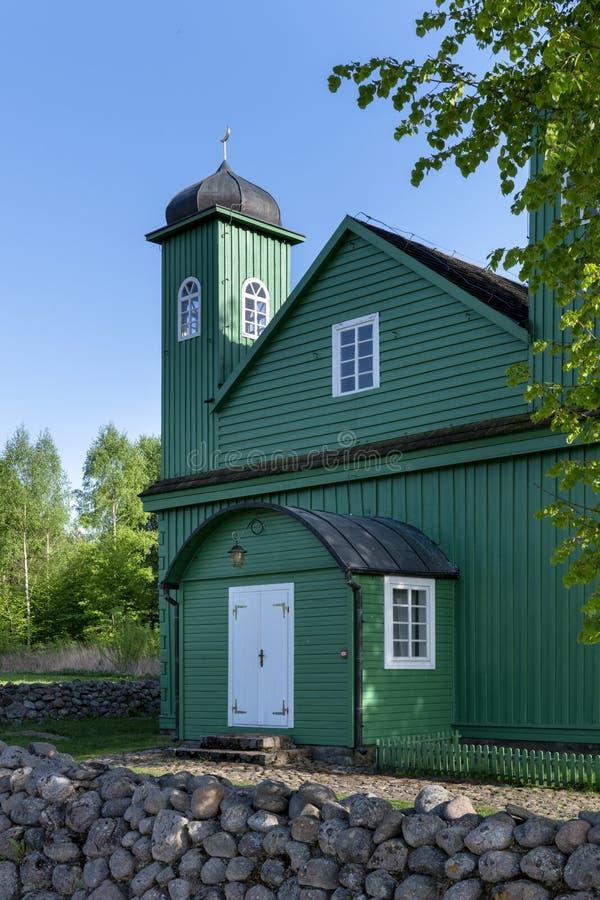 木鞑靼人的清真寺在Kruszyniany,波兰 免版税图库摄影