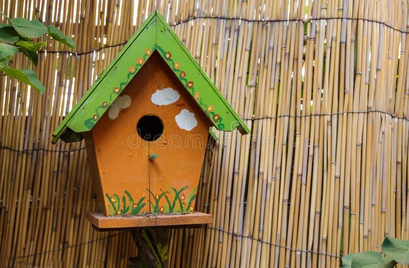 木鸟笼 库存照片
