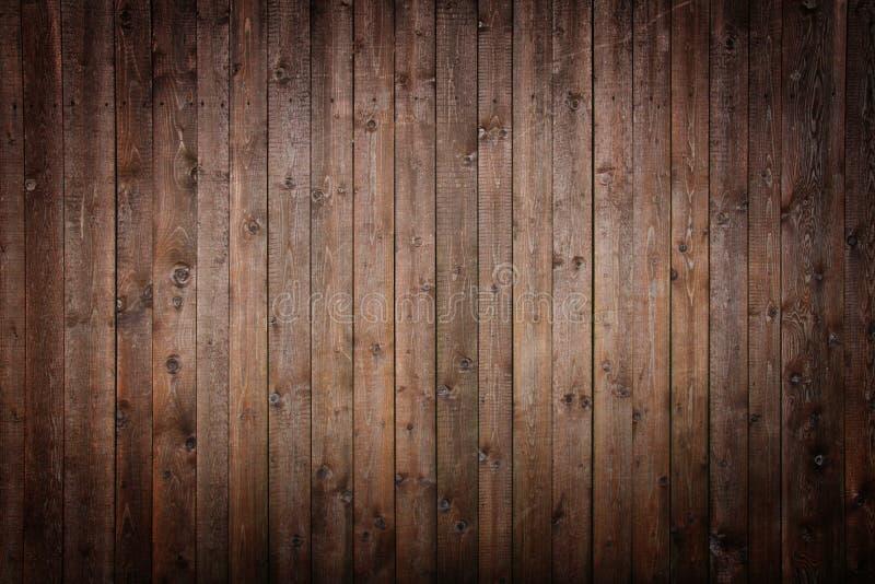 木黑暗的面板 库存图片