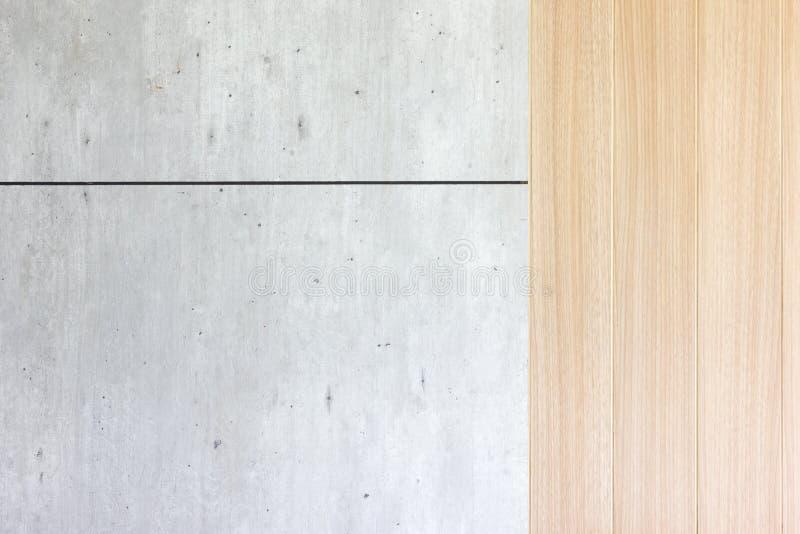 木头和混凝土后面地面墙壁 库存照片