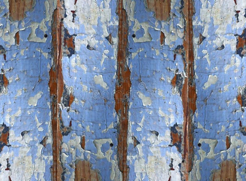 木破旧的蓝色盘区纹理背景的 免版税库存照片