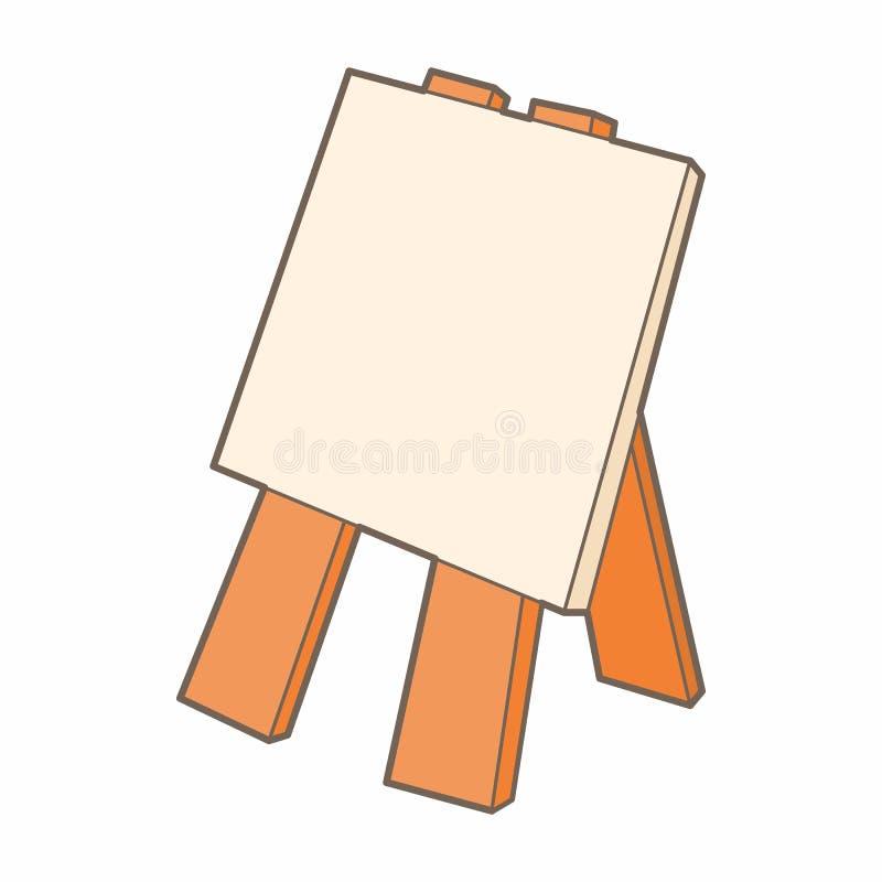 木画架象,动画片样式 皇族释放例证