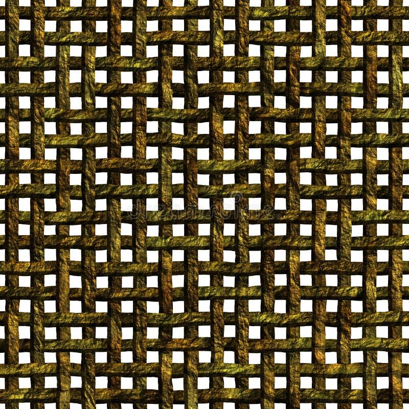 木织法 向量例证