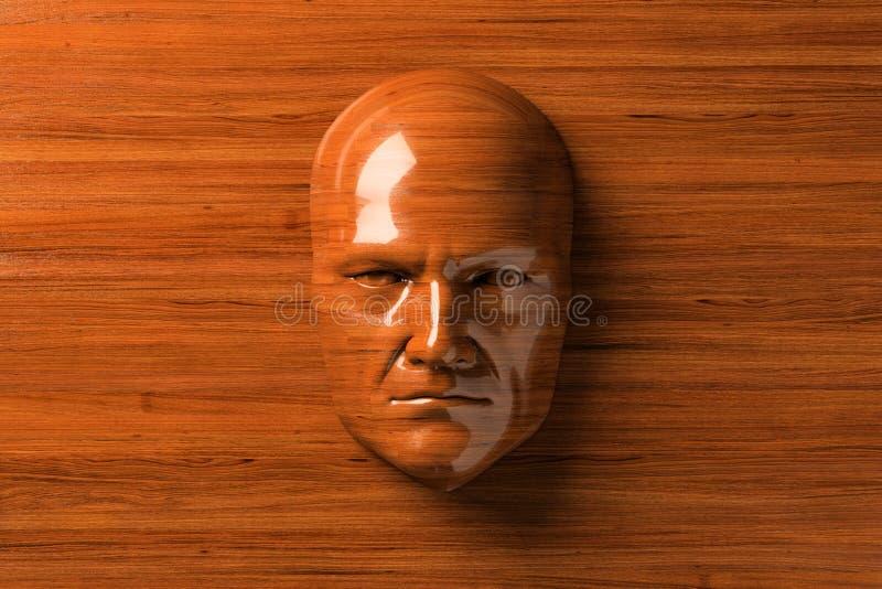 木头的人 免版税库存图片