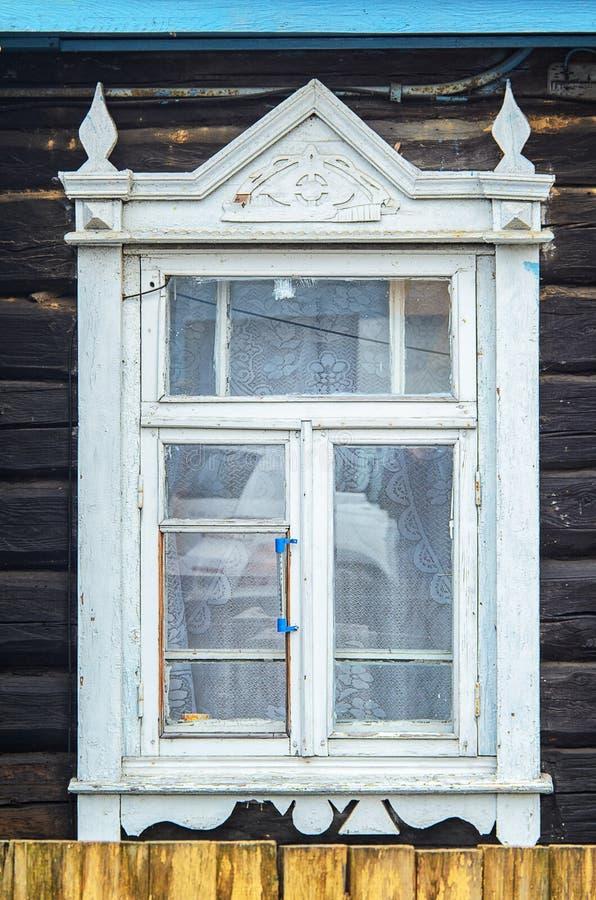 木建筑学门面元素 窗口 库存图片