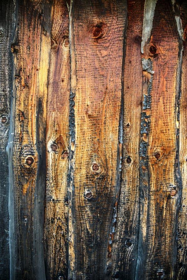 木破裂的背景 库存图片