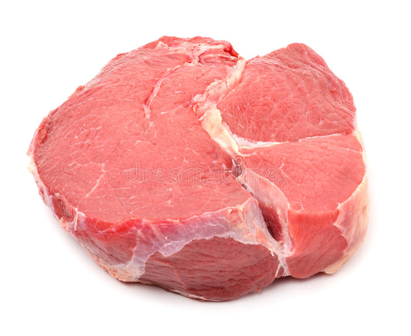 未加工的红色beaf肉 免版税图库摄影