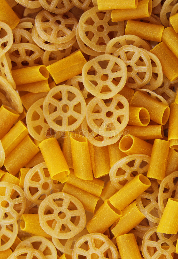 未加工的轮子芯片 库存图片