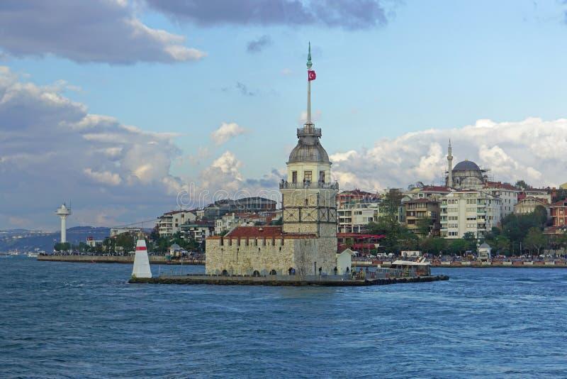 未婚塔伊斯坦布尔 免版税库存照片