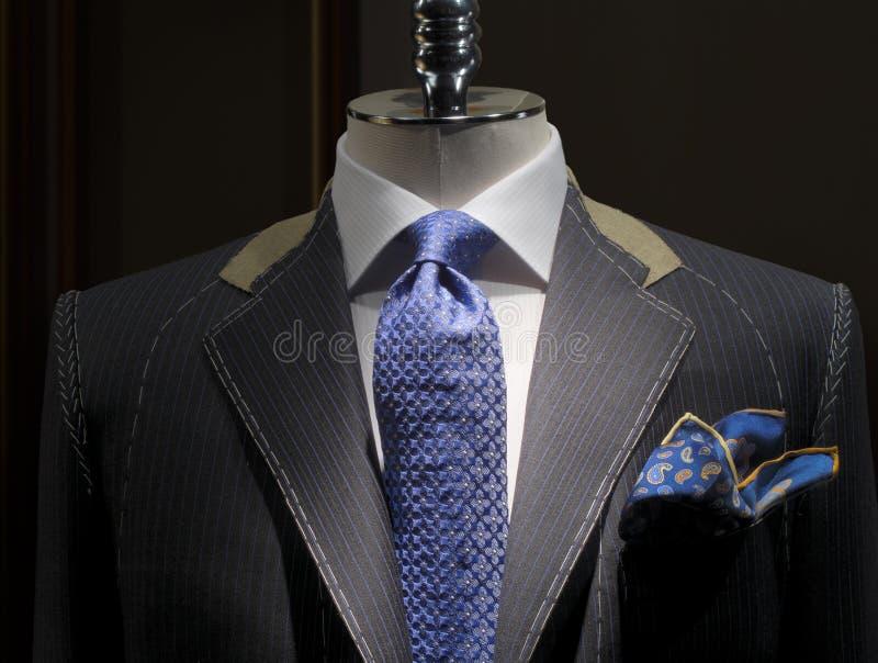 未完成水平的夹克界面的裁缝 库存照片