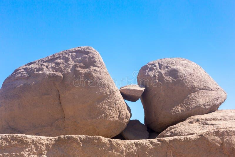 未完成的方尖碑-阿斯旺-埃及 库存照片