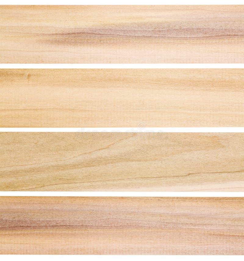 未完成的白杨树木头板条 库存照片