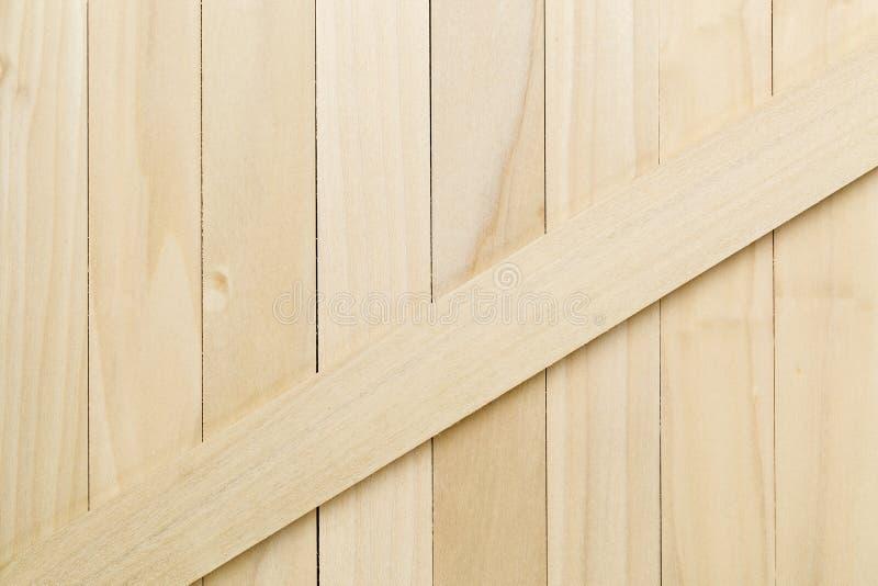 未完成的白杨树木头纹理 免版税库存图片