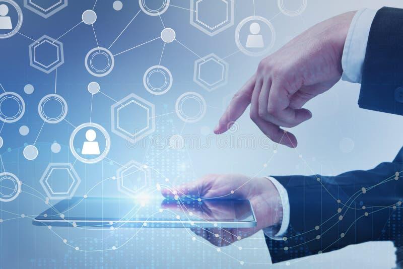 未来、通信和创新概念 免版税库存照片