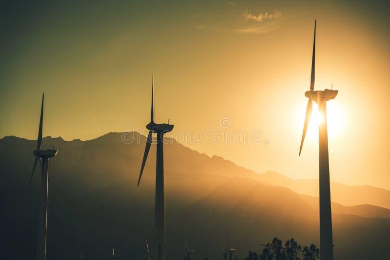 未来可再造能源 图库摄影