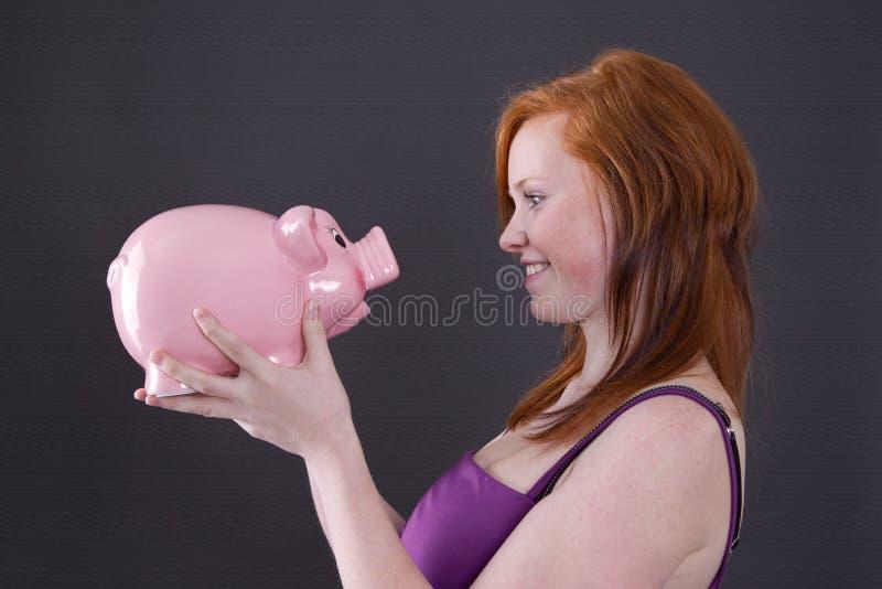 未来女孩梦想  免版税库存照片