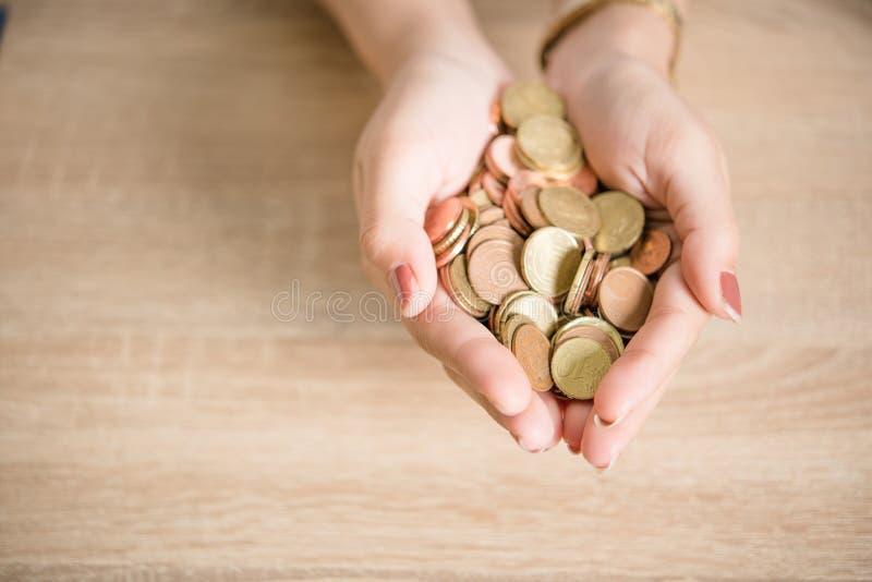 未来投资的挽救金钱 免版税库存照片