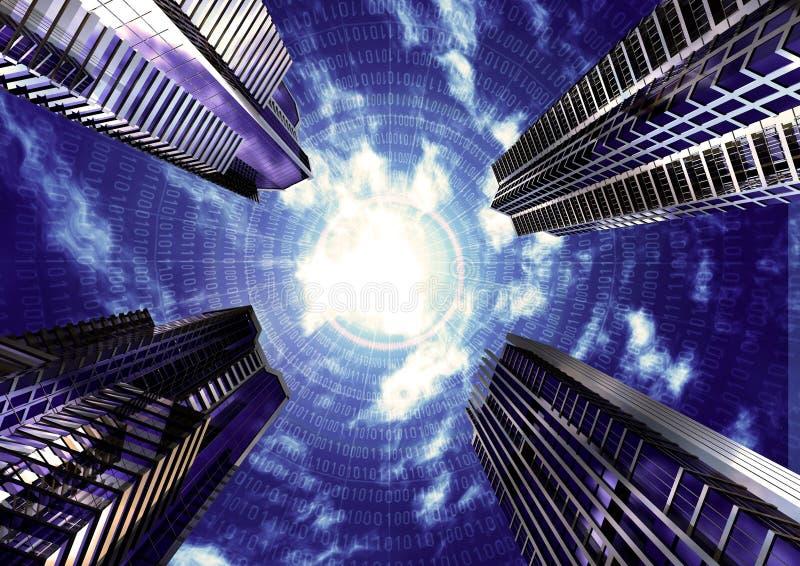未来派企业的概念 库存图片