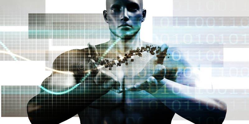 未来派技术 库存例证