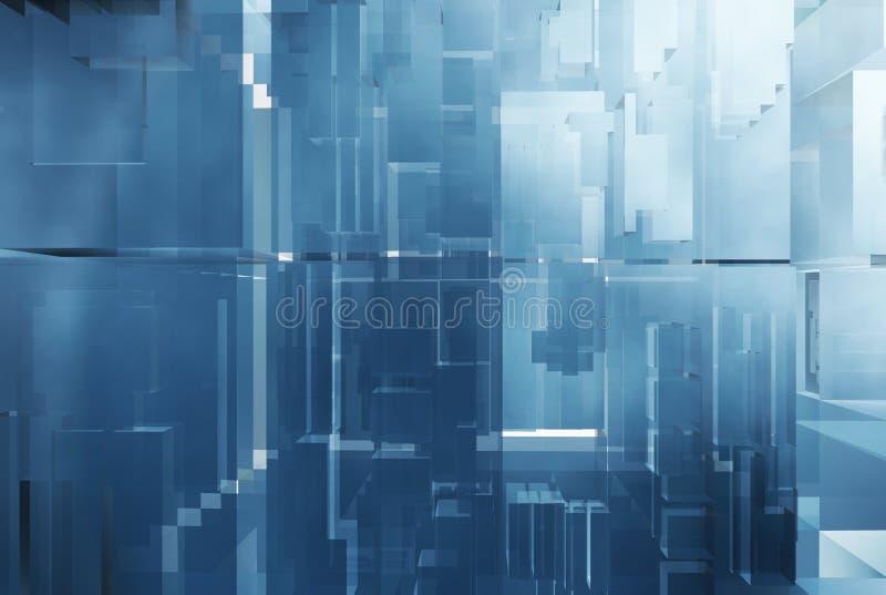未来派抽象的背景 免版税库存图片