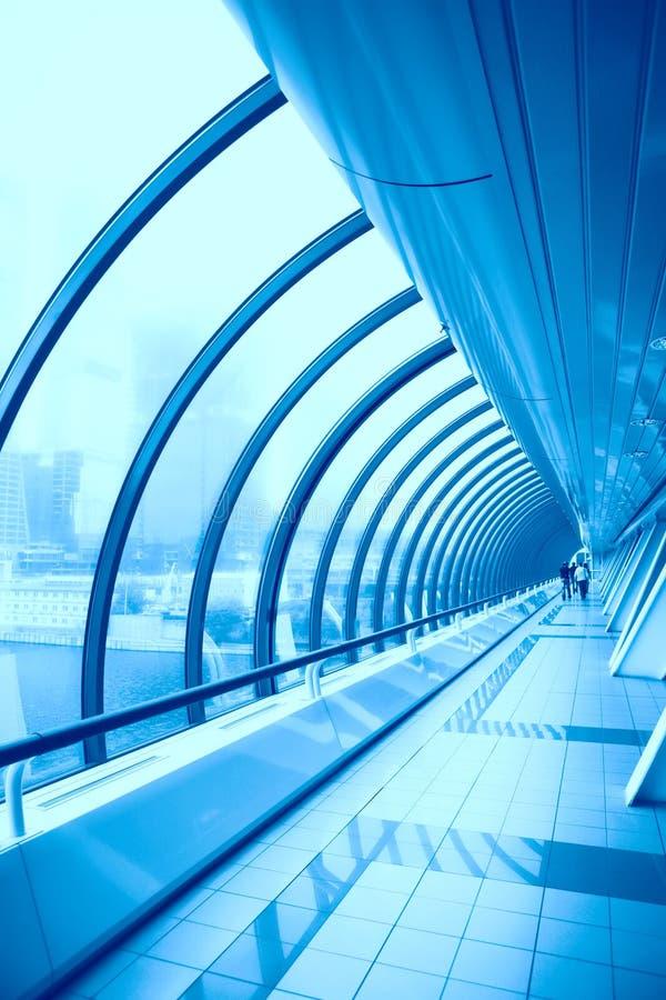 未来派的建筑 免版税图库摄影