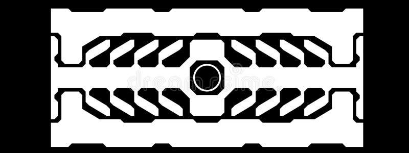 未来派的设计 免版税图库摄影