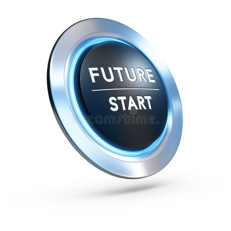 未来现在是Sarting,战略视觉 库存例证