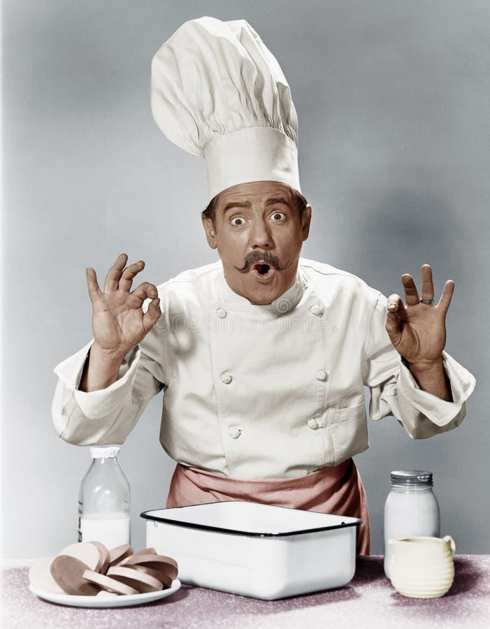 未来的厨师(所有人被描述不更长生存,并且庄园不存在 供应商保单将没有mo 图库摄影