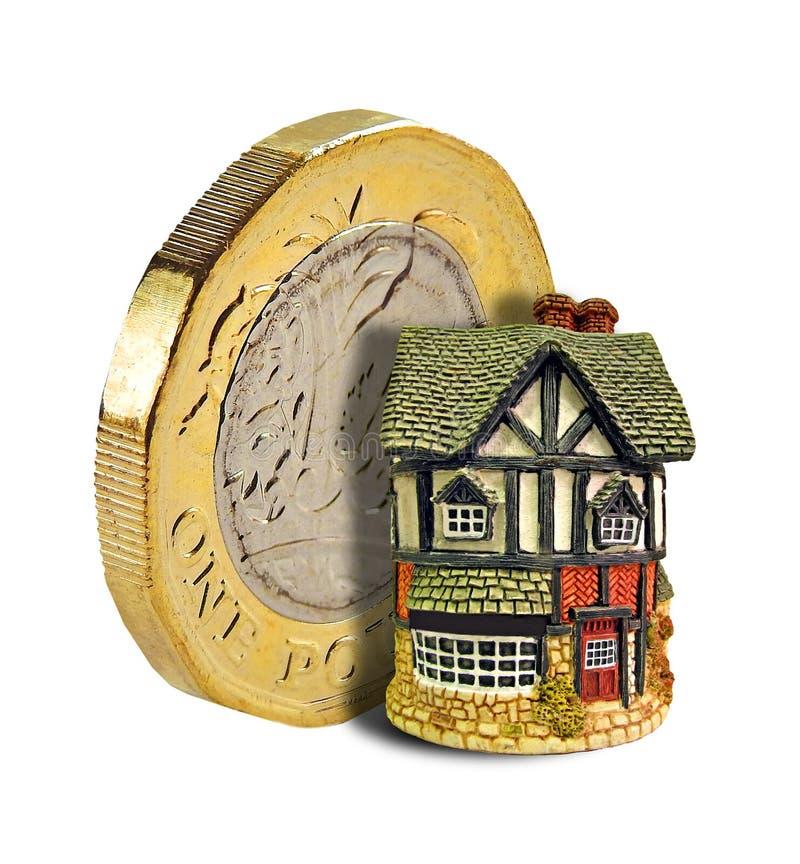 未来金融投资物产金币 免版税图库摄影
