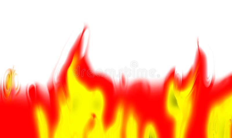 未来派抽象背景概念的火完善 向量例证