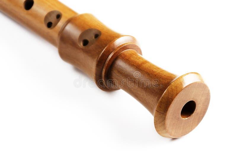 末端长笛零件高音 库存图片