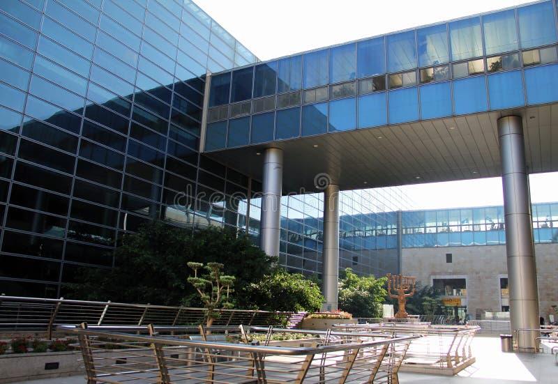 本・ Gurion机场在特拉唯夫 免版税库存图片