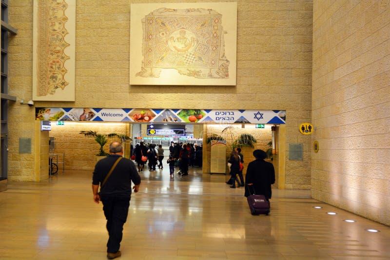 本古理安机场-以色列 库存图片