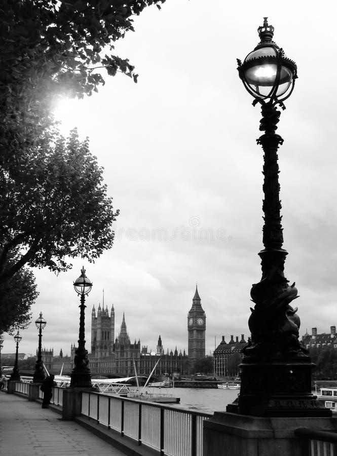 本大伦敦威斯敏斯特 库存图片
