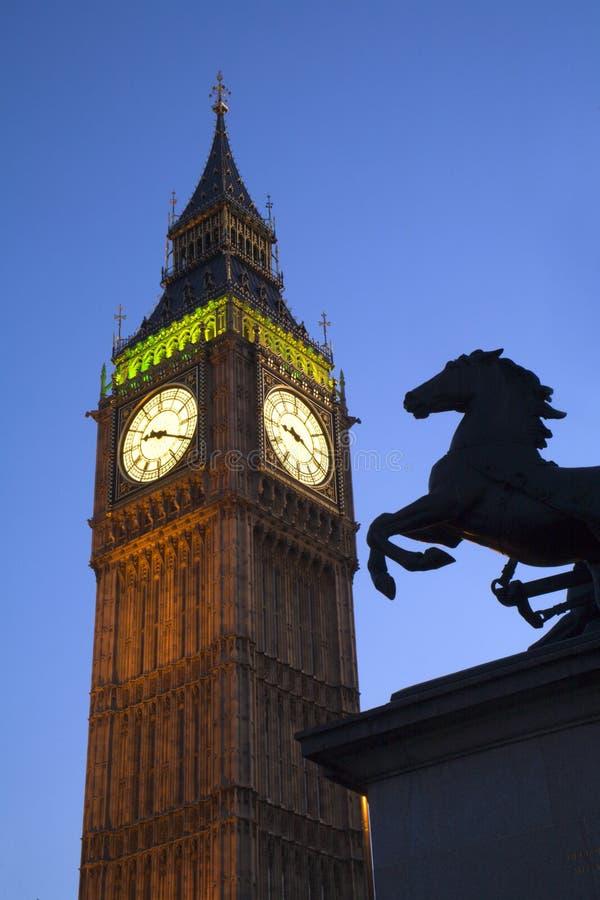 本大伦敦纪念碑 免版税库存照片