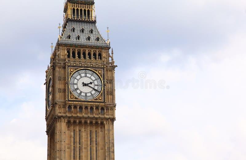 本大编钟计时著名的英语 免版税库存图片