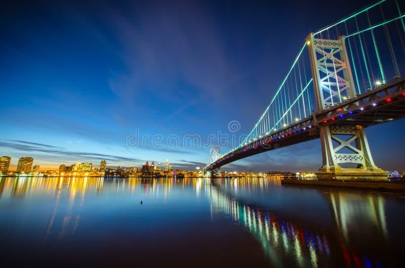 本杰明・富兰克林桥梁#3 免版税库存图片