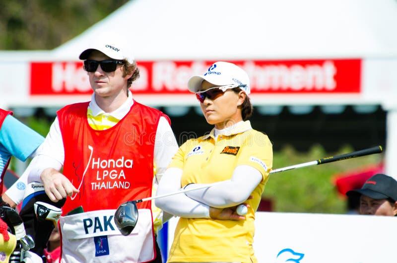 本田LPGA泰国2014年 免版税库存图片