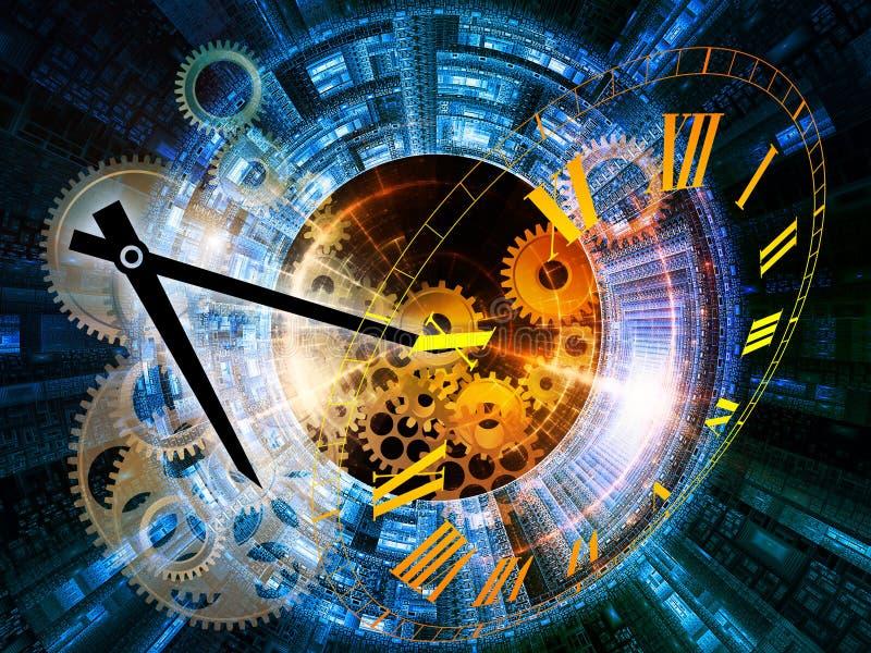 本质时间 向量例证
