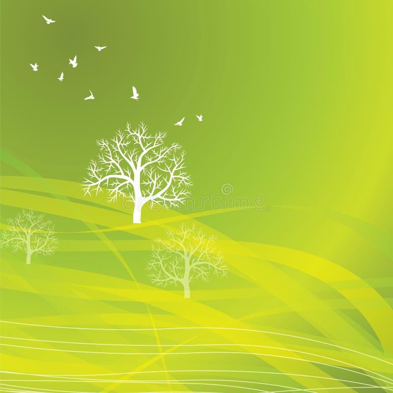 本质背景Eco概念 库存例证