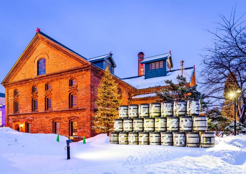 札幌啤酒工厂 免版税库存图片
