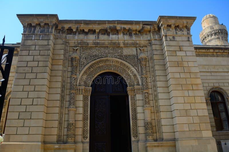 朱马清真寺,巴库,阿塞拜疆 库存图片