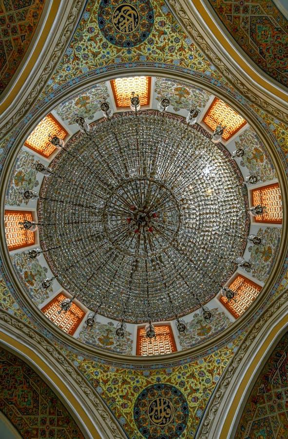 朱马清真寺-巴库,阿塞拜疆 免版税图库摄影
